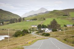 Road from Carbost Royalty Free Stock Photography