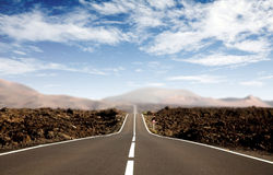 Road - career path Stock Images