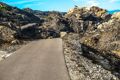Road in Catalonia Royalty Free Stock Photography