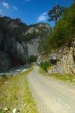 Road in Caucasus Stock Images