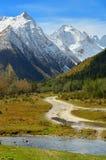 Road in Caucasus Royalty Free Stock Photo