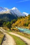 Road in Caucasus Stock Photo