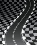 Road checkered Royalty Free Stock Photos