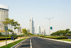 Road of city Stock Photography