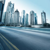 Road and city stock photography
