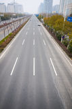Road in the city Royalty Free Stock Images