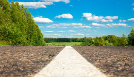 Road close up Royalty Free Stock Photography