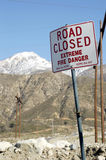 Road closed 2 Stock Photos