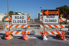 Free Road Closed Royalty Free Stock Photos - 30480838