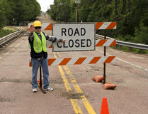 Free Road Closed Royalty Free Stock Image - 31438456