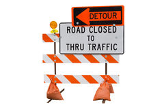 Free Road Closed Stock Photography - 49469462