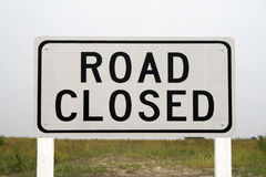 Road Closed Sign Stock Images