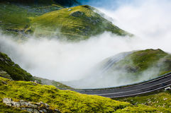 Road in the cloud Royalty Free Stock Images