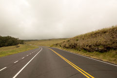 Road in the Clouds Royalty Free Stock Photos