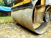 Road Compactor Royalty Free Stock Photo