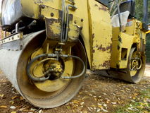Road Compactor Royalty Free Stock Photos