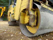 Road Compactor Royalty Free Stock Photography