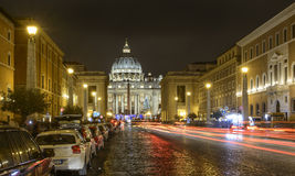 The road of conciliation rome italy europe Royalty Free Stock Images