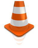 Road cone Stock Photo