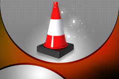 Road cone Royalty Free Stock Image
