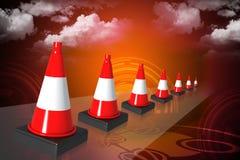 Road cone Stock Photos