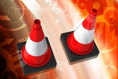 Road cone Royalty Free Stock Photos