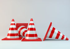 Road cone Stock Images