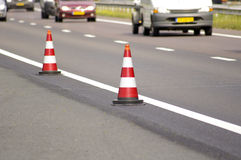 Road cone Stock Photography