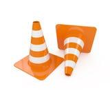 Road cones Stock Photo