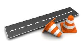 Free Road Cones Stock Images - 77836054