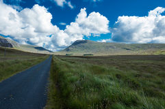 Road of Connemara Royalty Free Stock Photography