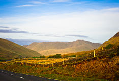 Road in Connemara, Ireland Royalty Free Stock Image