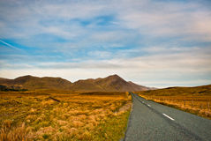 Road in Connemara, Ireland Royalty Free Stock Images