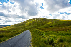 Road on Connemara mountains Royalty Free Stock Photography