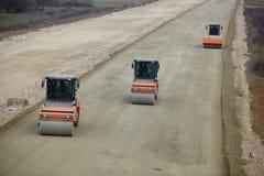 Road construction Royalty Free Stock Photo