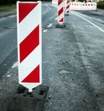 Road construction Stock Photography