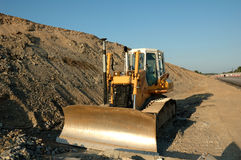 Road construction. Equipment for Stock Photography
