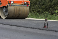 Road construction Royalty Free Stock Photos
