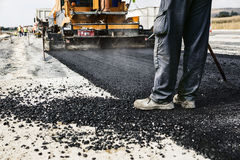 Road Construction Royalty Free Stock Photo