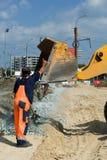 Road construction. Royalty Free Stock Photo