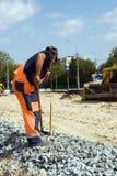 Road construction. Stock Photo