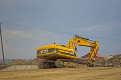 Road Construction Equipment Royalty Free Stock Image
