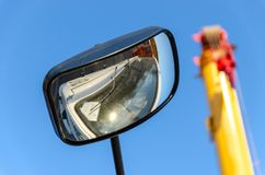 Road construction equipment Stock Images