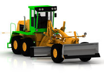 Road construction grader Royalty Free Stock Photography
