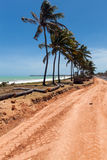 A road construction in Maceio Stock Image