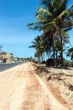 A road construction in Maceio Stock Photos