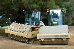 Road Construction Machinery Stock Photo