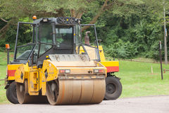Road Construction Machines Stock Photography