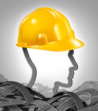 Road Construction Management Royalty Free Stock Images