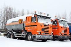 Road Construction Trucks Stock Photos
